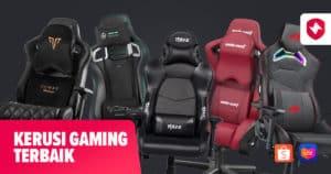Kerusi Gaming Terbaik Premium